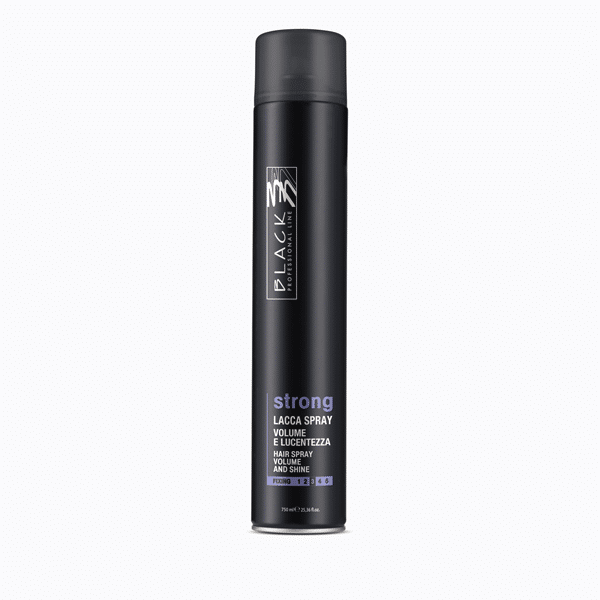Strong hairspray - Volume and shine