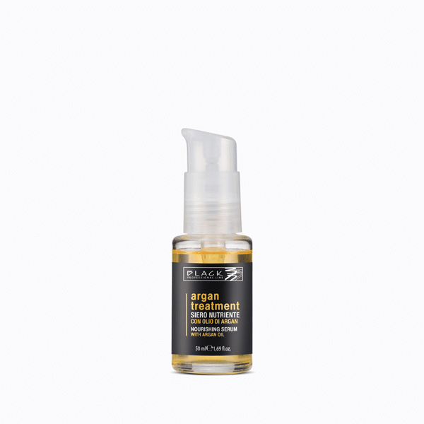 Nourishing hair serum with Argan oil