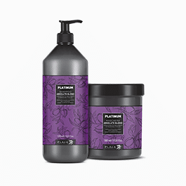 Anti-yellow treatment for blond or discoloured hair - Platinum