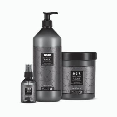 Repair treatment - Noir