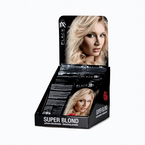 Super Blond - Blue bleaching powder sachets