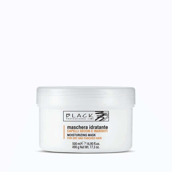 Moisturising mask for dry, parched hair
