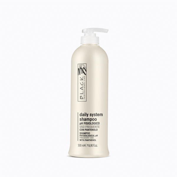 Neutral shampoo for frequent use