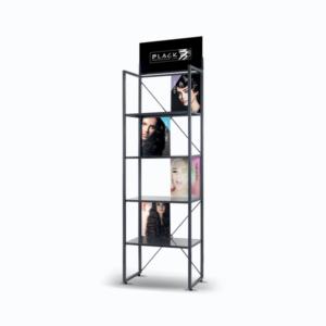 Black Professional Display Stand